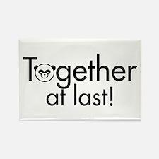 Together at Last Rectangle Magnet