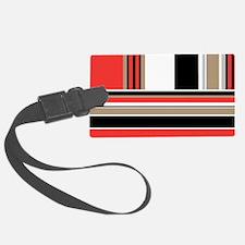 Bold Stripes Luggage Tag