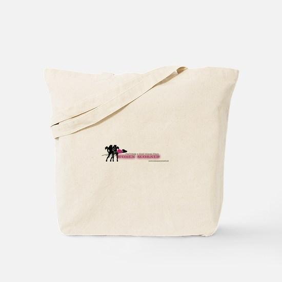 Women Scorned Logo Tote Bag