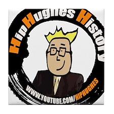 HipHughes History Logo Tile Coaster