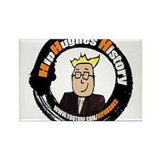 HipHughes History Logo Magnets