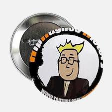 """HipHughes History Logo 2.25"""" Button"""