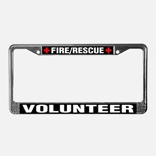 Fire Rescue Volunteer License Plate