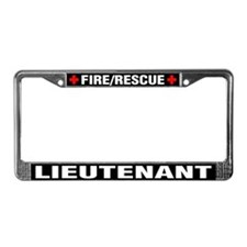 Firefighter Lieutenant License Plate