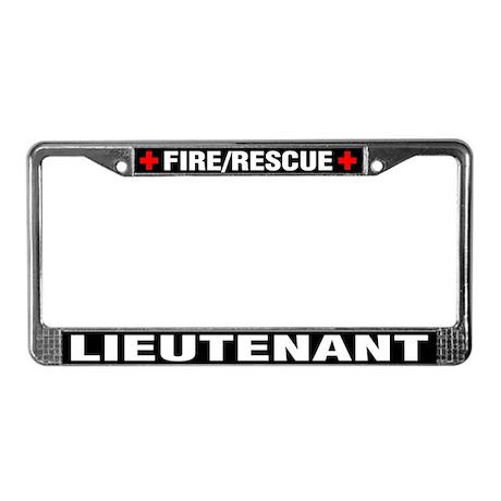 Firefighter Lieutenant License Plate