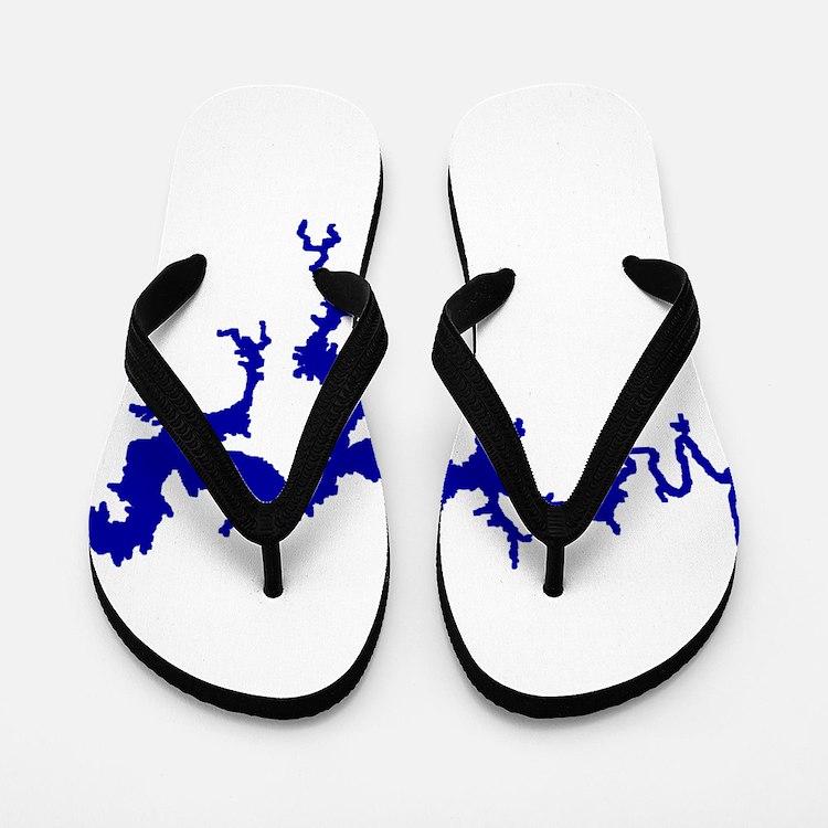 NACI DRAGON [blue] Flip Flops