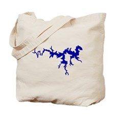 NACI DRAGON [blue] Tote Bag