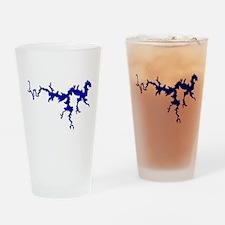 NACI DRAGON [blue] Drinking Glass