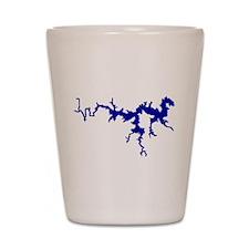 NACI DRAGON [blue] Shot Glass