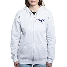 NACI DRAGON [blue] Zip Hoodie