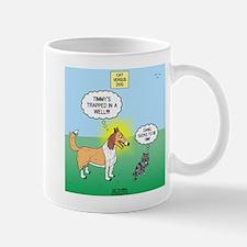 Tinkles vs. Lassie Mug