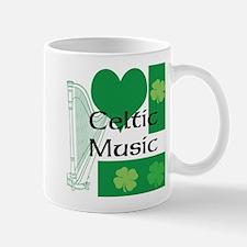 Mug I Love Celtic Music
