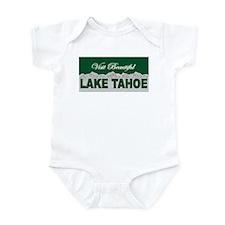 Visit Beautiful Lake Tahoe Infant Bodysuit