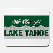 Visit Beautiful Lake Tahoe Mousepad