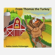 Thomas Turkey Throw Blanket