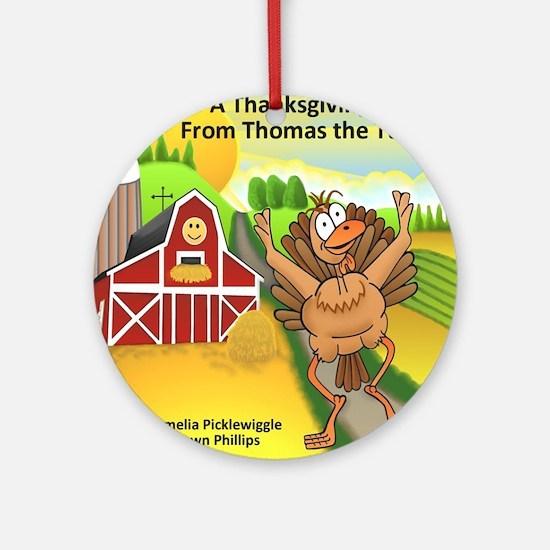 Thomas Turkey Round Ornament