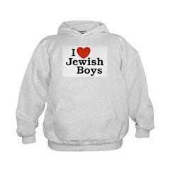 I Love Jewish Boys Hoodie