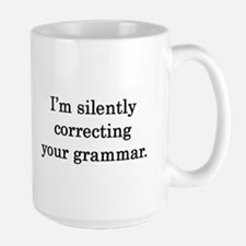 Silently Correcting your Grammar Mugs