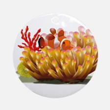 Clown fish Ornament (Round)