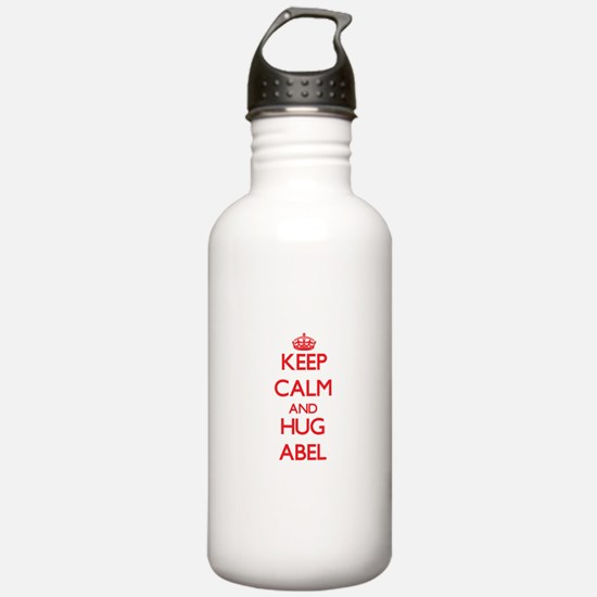 Keep Calm and HUG Abel Water Bottle