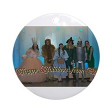 Oz Holiday Ornament (Round)