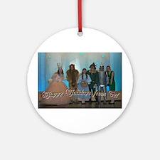 Oz Holiday Ornament (Round)