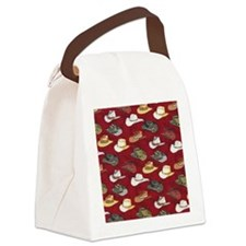 Cowboy Hats Canvas Lunch Bag