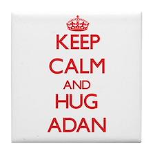 Keep Calm and HUG Adan Tile Coaster