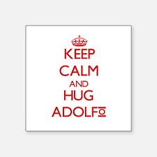 Keep Calm and HUG Adolfo Sticker