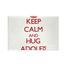 Keep Calm and HUG Adolfo Magnets