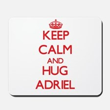 Keep Calm and HUG Adriel Mousepad