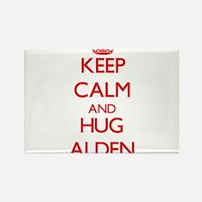 Keep Calm and HUG Alden Magnets
