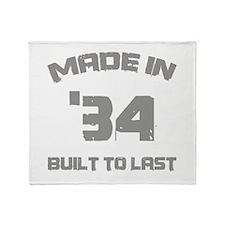 1934 Built To Last Throw Blanket
