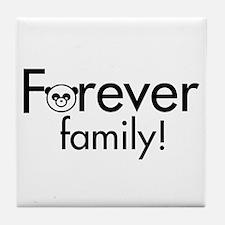 Forever Family Tile Coaster