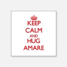 Keep Calm and HUG Amare Sticker