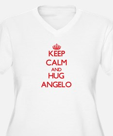 Keep Calm and HUG Angelo Plus Size T-Shirt