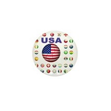 USA soccer 2014 Mini Button