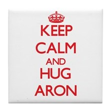 Keep Calm and HUG Aron Tile Coaster