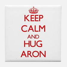 Keep Calm and HUG Aron Tile Coaster