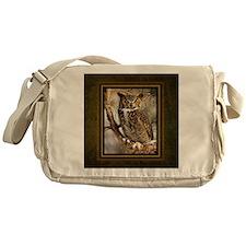 Horned Owl Messenger Bag