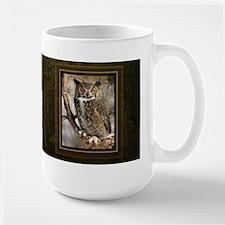 Horned Owl Mugs