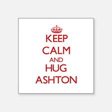 Keep Calm and HUG Ashton Sticker