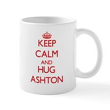 Keep Calm and HUG Ashton Mugs