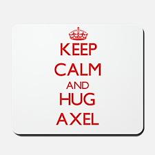 Keep Calm and HUG Axel Mousepad