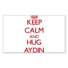 Keep Calm and HUG Aydin Decal