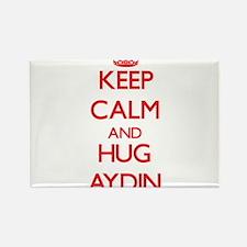 Keep Calm and HUG Aydin Magnets