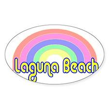 Laguna Beach, California Oval Decal