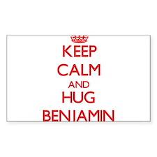 Keep Calm and HUG Benjamin Decal