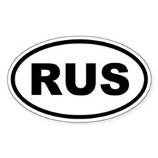 Russia RUS Decal