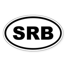 Serbia SRB Decal
